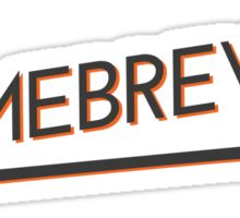 Homebrewer - Mash Paddle Sticker