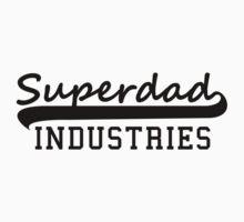Superdad INDUSTRIES Father Design Black by MILK-Lover