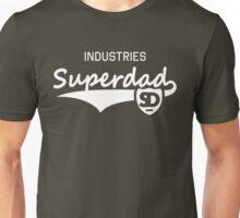 Superdad INDUSTRIES Daddy Design White Unisex T-Shirt