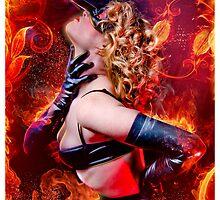 Pyromancer II by ravenmacabre