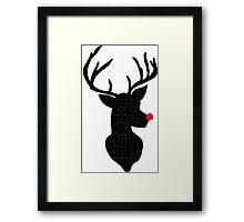 Rudolph Christmas Framed Print