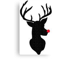 Rudolph Christmas Canvas Print