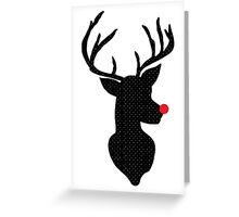 Rudolph Christmas Greeting Card