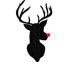 Rudolph Christmas Photographic Print