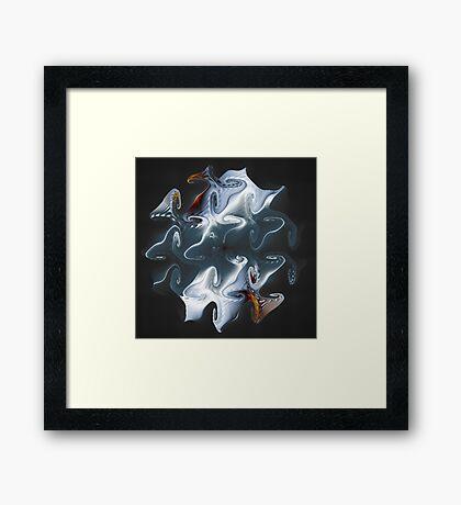 Ghost Gnarls Framed Print