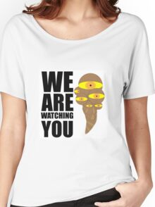 Dota2 wards We are watching you Women's Relaxed Fit T-Shirt