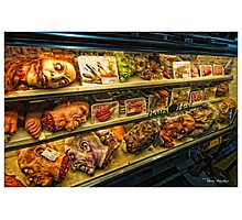 Zombie Delicatessen Photographic Print