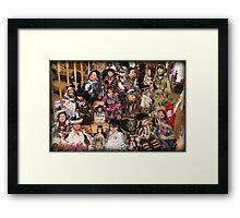 ❀◕‿◕❀ CAPTURE OF INDIAN DOLLS ❀◕‿◕❀ Framed Print