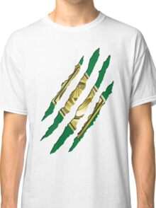 Secret Identity - Green Ranger Classic T-Shirt