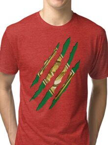 Secret Identity - Green Ranger Tri-blend T-Shirt