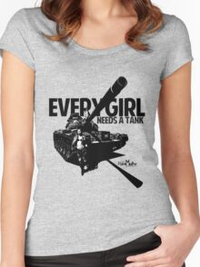 Every Girl Needs a Tank Women's Fitted Scoop T-Shirt