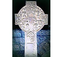 Celtic cross inversion Photographic Print