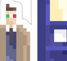 Pixel Who Sticker
