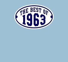 THE BEST OF 1963 2C Birthday Navy/White T-Shirt Unisex T-Shirt