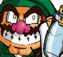 Legend Of Wario- Link Version Sticker