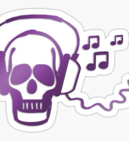 Skull rocker Sticker