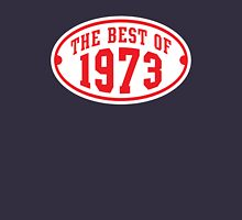 THE BEST OF 1973 Birthday T-Shirt Red/White Unisex T-Shirt