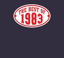 THE BEST OF 1983 2C Birthday T-Shirt Red/White Unisex T-Shirt