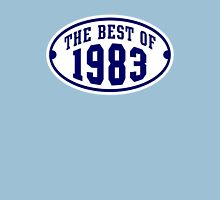 THE BEST OF 1983 2C Birthday T-Shirt Navy/White Unisex T-Shirt