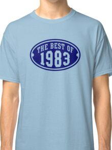 THE BEST OF 1983 Birthday T-Shirt Navy Classic T-Shirt
