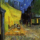 Van Gogh; Cafe Terrace at Night  by TilenHrovatic