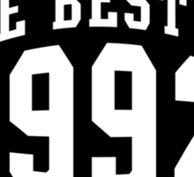THE BEST OF 1992 Birthday T-Shirt Black Sticker