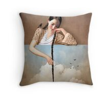 Touch The Sky (Rapunzel) Throw Pillow