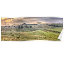 A Touch of Tuscany In The Snowy Mountains, Jingelic NSW/Walwa Victoria - The HDR Experience Poster