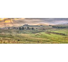 A Touch of Tuscany In The Snowy Mountains, Jingelic NSW/Walwa Victoria - The HDR Experience Photographic Print