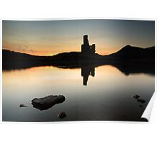 Ardvreck Castle Sunset Poster
