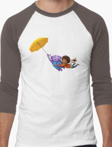 Oh Poppins Men's Baseball ¾ T-Shirt