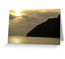 Oahu Sunrise Greeting Card