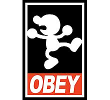 OBEY Mr. Game & Watch Photographic Print