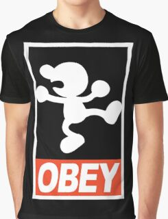 OBEY Mr. Game & Watch Graphic T-Shirt