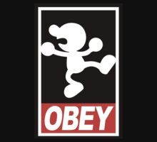 OBEY Mr. Game & Watch by calfrills