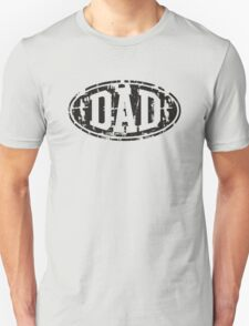 DAD Vintage Design T-Shirt Black T-Shirt