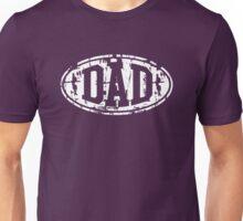 DAD Vintage Design T-Shirt White Unisex T-Shirt