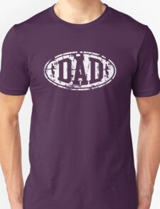 DAD Vintage Design T-Shirt White T-Shirt