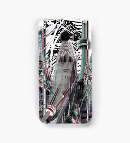 TALL BUILDINGS COMPOSITE Samsung Galaxy Case/Skin