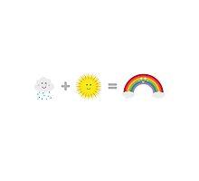 Rain, Sun and Rainbow by ilovecotton