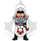 Assassin&#x27;s Creed Brotherhood: Ezio Chibi by SushiKitteh&#x27;s Creations