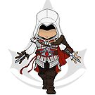 Assassin's Creed 2: Ezio Chibi by SushiKitteh's Creations