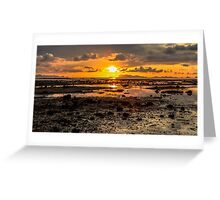Sunset central Greeting Card