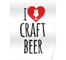 I Heart Craft Beer Poster