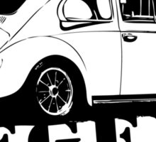 Beetle LEGEND T-Shirt Black Sticker