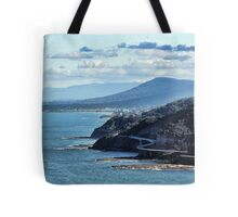 Sea Cliff Bridge Tote Bag