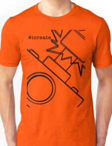 #icreate_camera Unisex T-Shirt