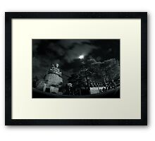 To Sit While The World Moves Is Still To Travel Framed Print