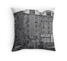 Abandoned Warehouse Throw Pillow