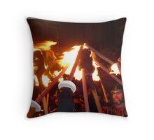 Shetland Vikings Throw Pillow